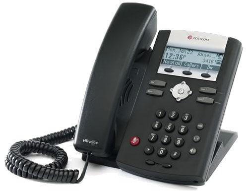 Imagem do telefone Polycom VoIP