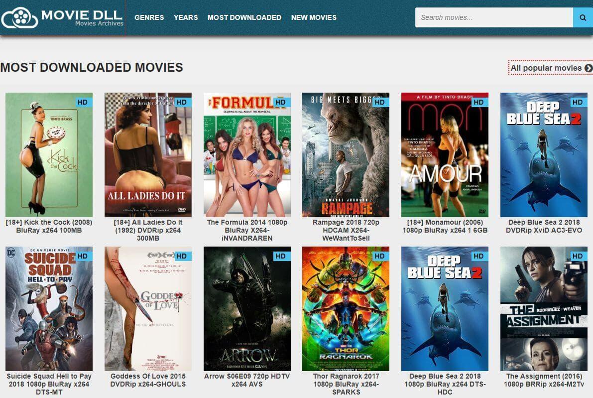 MovieDDL Movie Download Banco de Dados Online