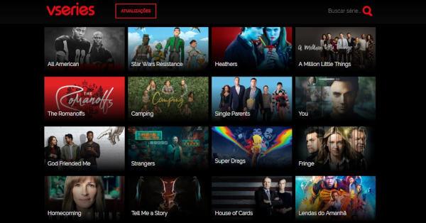 sites para ver filmes e séries online
