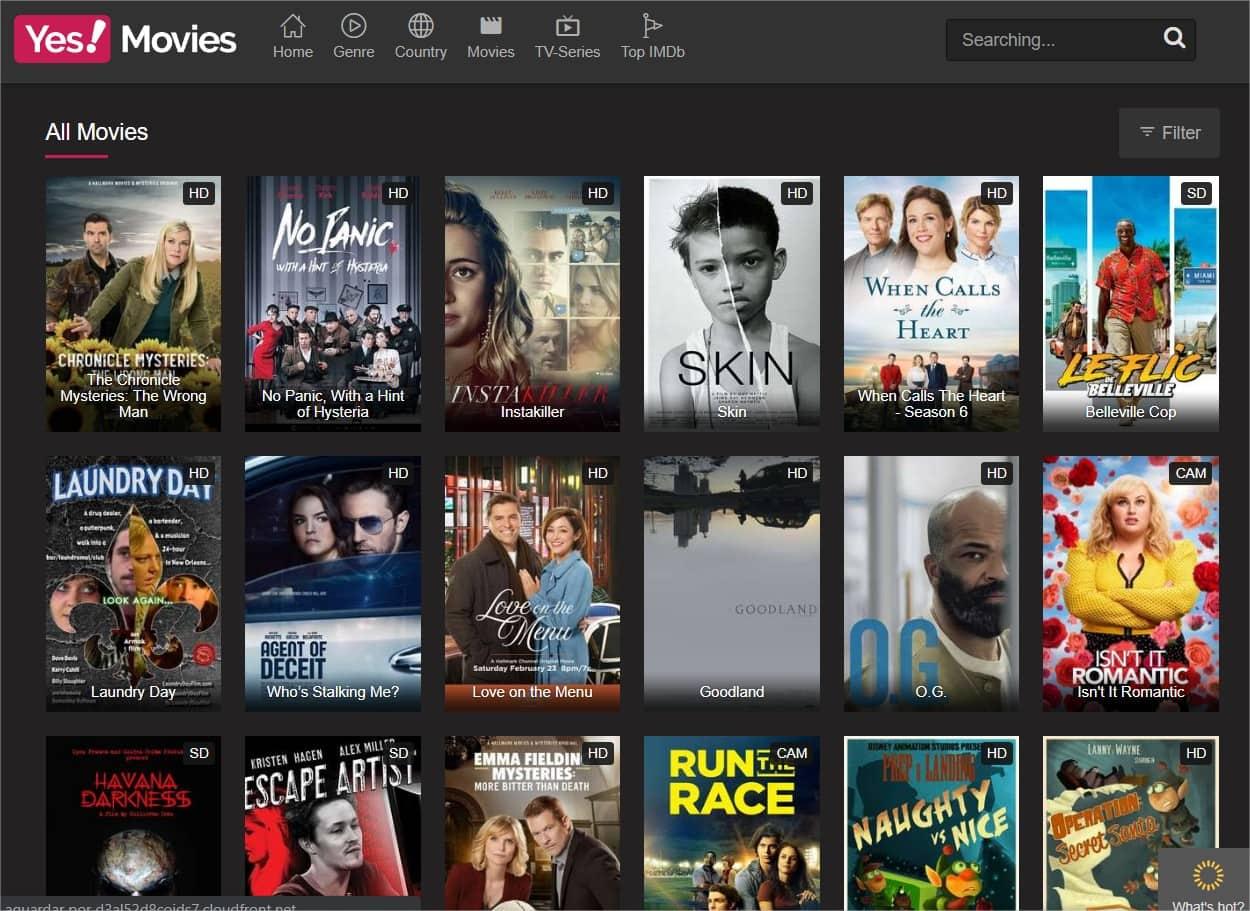 100 sites TOP para ver filmes e séries grátis online 2019 15