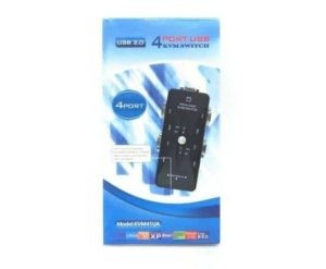 Switch KVM 4 portas – USB 2.0