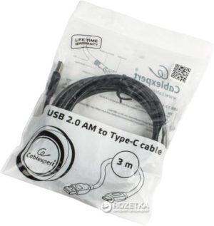 Cabo USB 2.0 TIPO-C Macho 3Mt