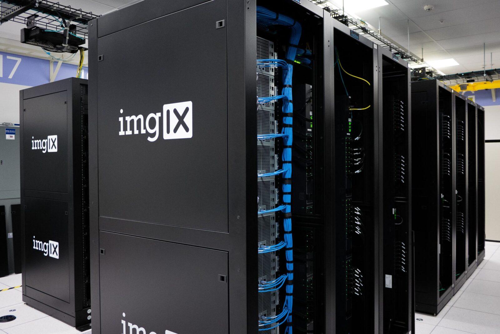 black ImgIX server system