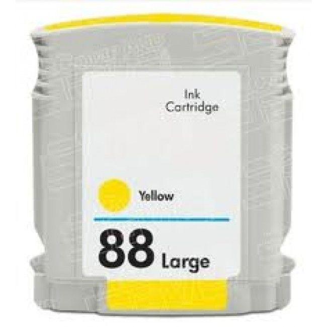 Tinteiro HP 88XL Amarelo – Compatível 1