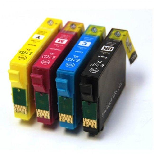 Tinteiros EPSON 16XL (kit 4 Cores) – Compativel 1