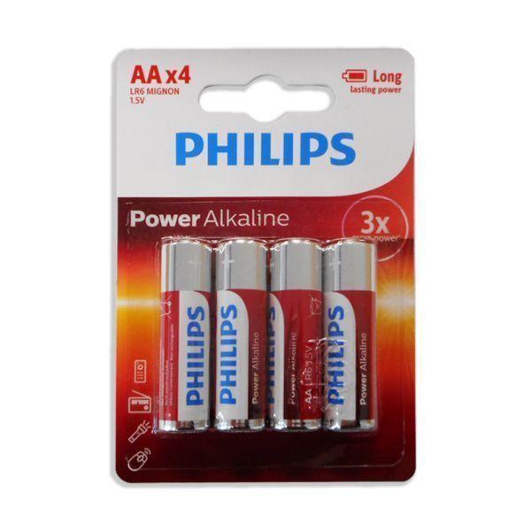 Pilha Alcalina PHILIPS LR06/AA 1.5V 1