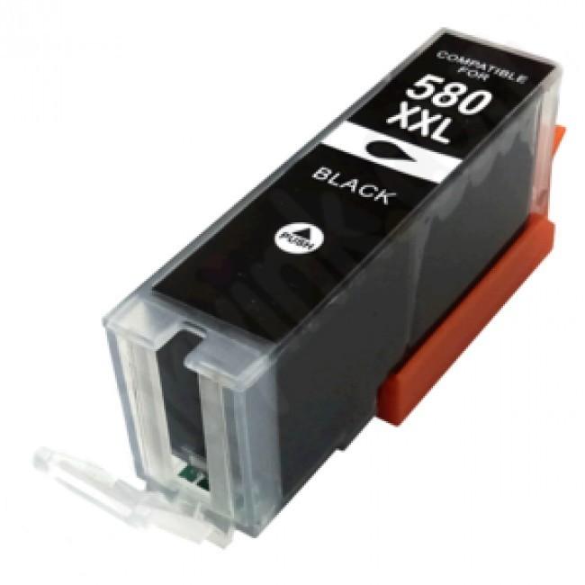 Tinteiro CANON CI-PGI580 XXL Preto- Compatível 1
