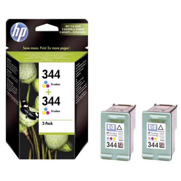Tinteiro HP 344 Cores – Duplo
