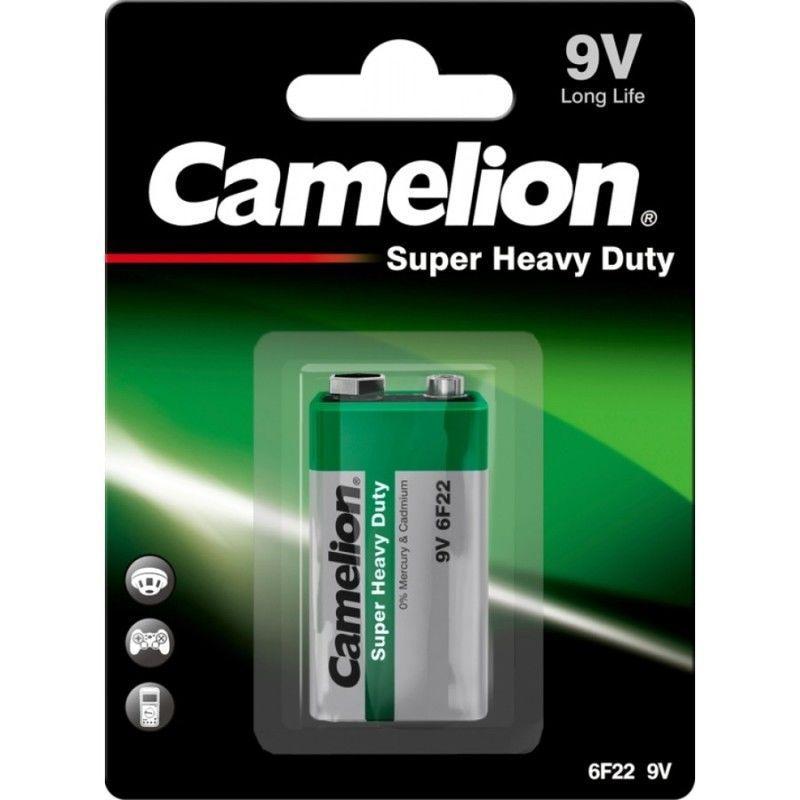 Pilha Camelion 6F22 Zinco-Carvão 9V 1