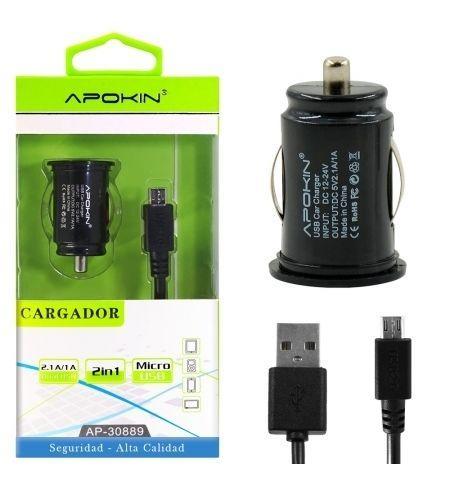 Carregador Isqueiro c/ fio Micro USB – APOKIN 1