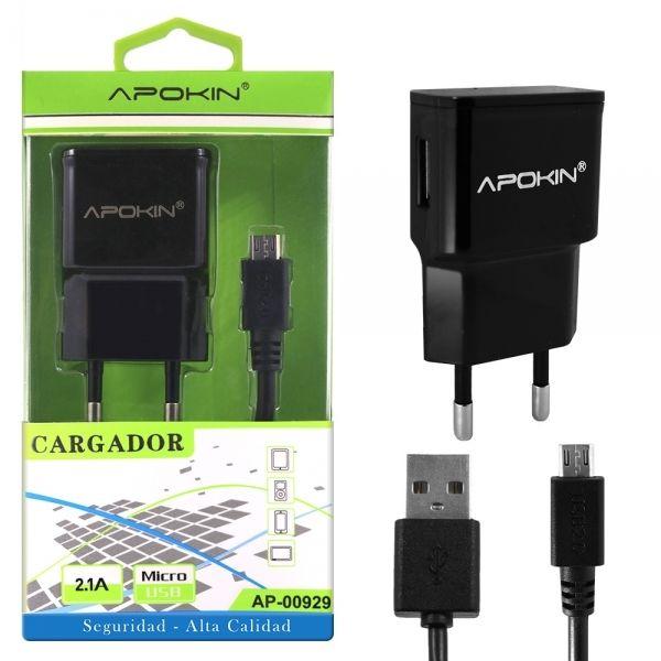 Carregador USB c/ fio Micro USB – APOKIN 1