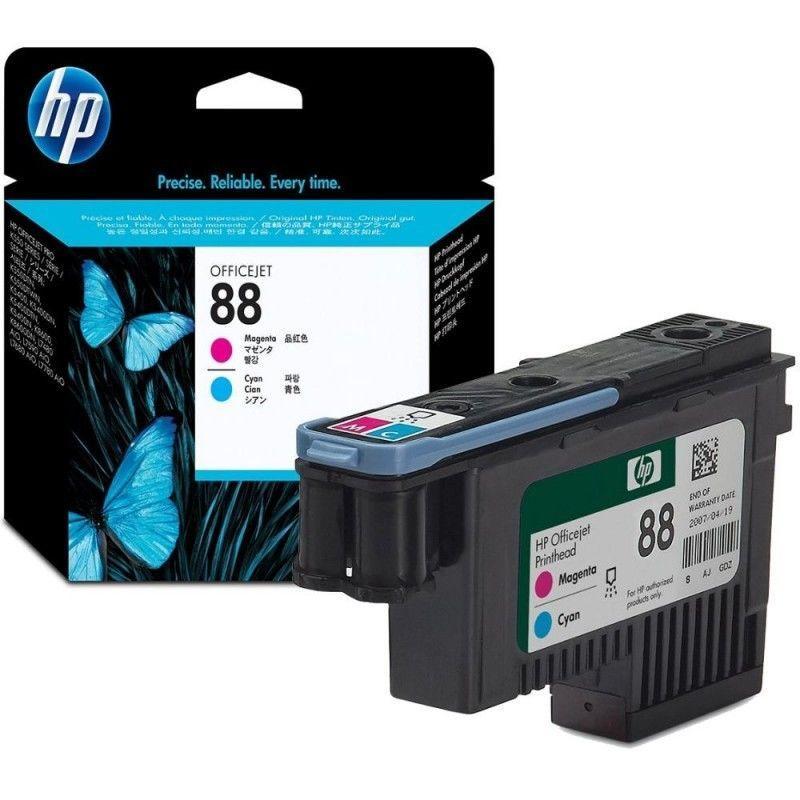 Cabeça de Impressão HP 88XL Ver/Azu – C9382A 1
