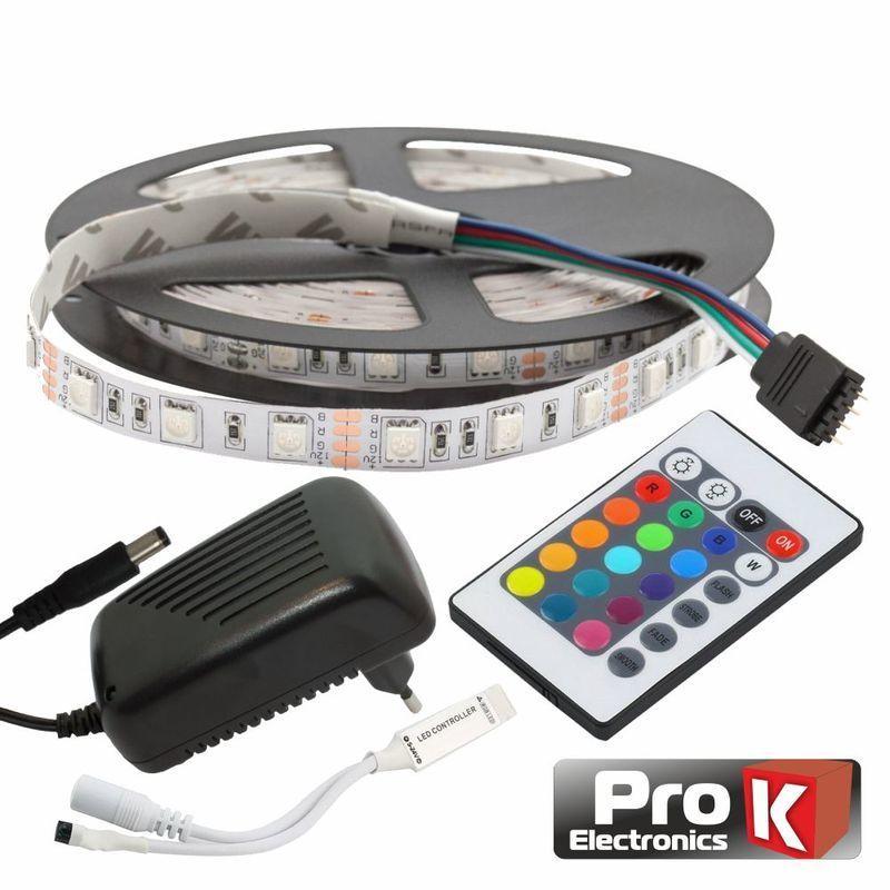 Kit PRO K 300 LEDS RGB C/ CONTROL 1