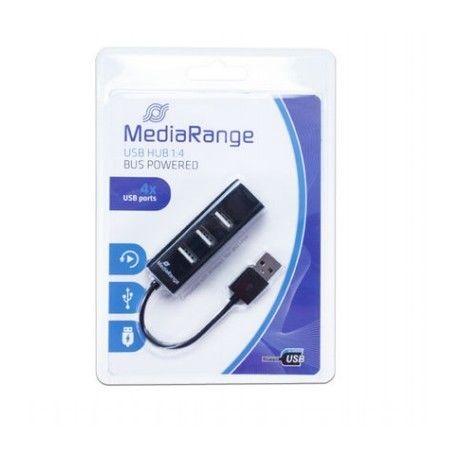 HUB USB MEDIARANGE com 4 portas 1