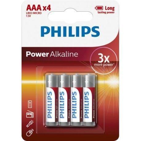Pilha Alcalina PHILIPS LR03/AAA 1.5V 1