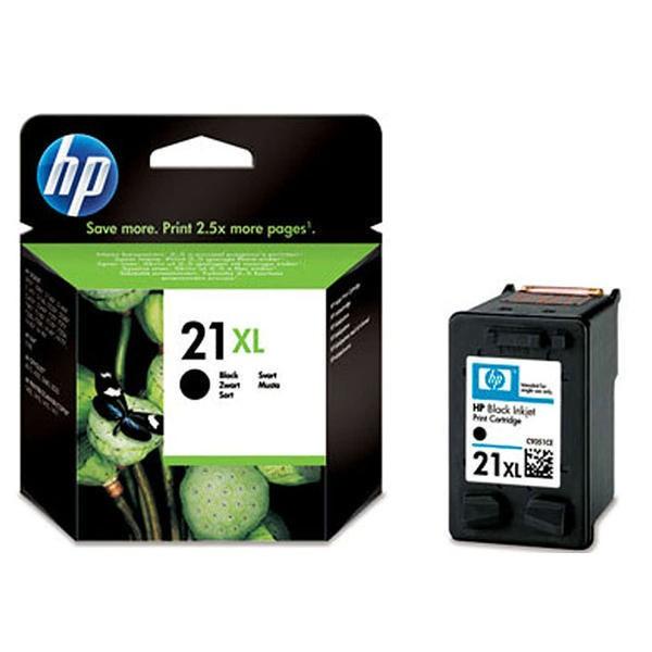 Tinteiro HP Preto 21XL – C9351CE 1