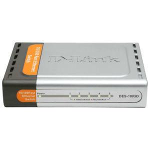 Switch D-LINK DES-1005D 1