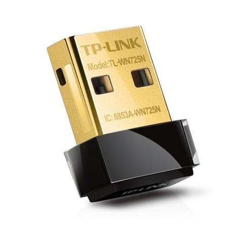Adaptador de Rede Wifi TP-Link TL-WN725N