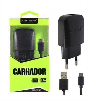 Carregador USB c/ fio Tipo C – APOKIN 1