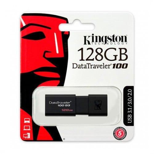 Pendrive KINGSTON Datatraveler 100 G3 128Gb