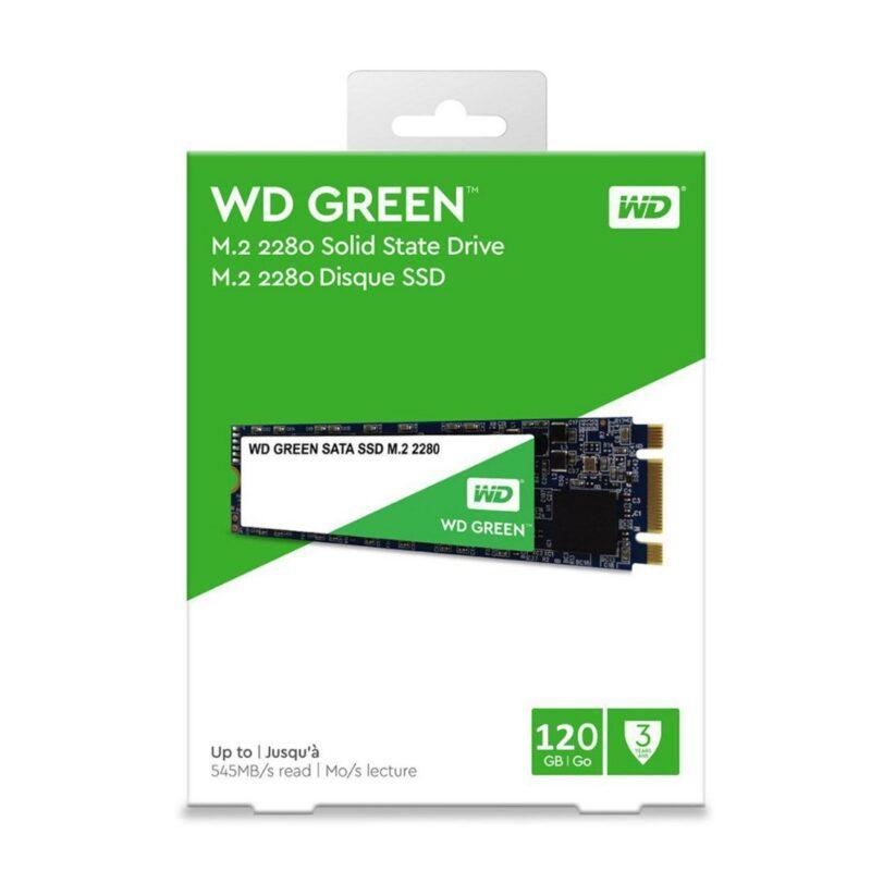 Disco Rígido WESTERN 2.5 M2 120Gb 1