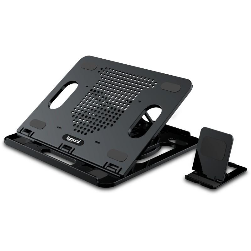 iggual Soporte ordenador portátil+móvil RPSV17