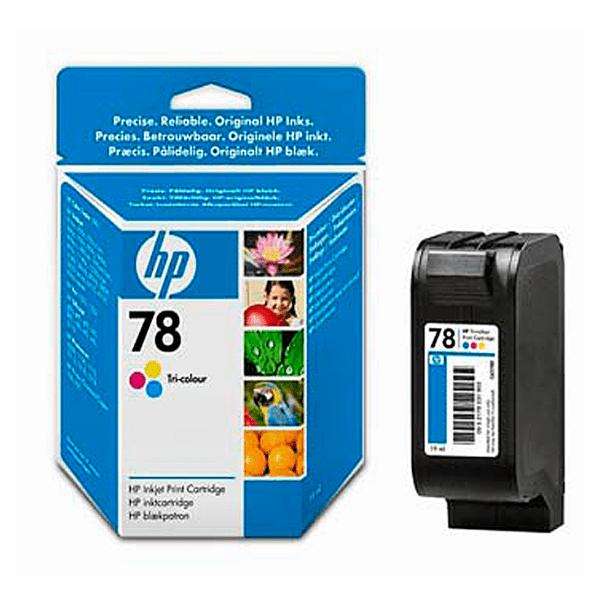 Tinteiro HP 78 Cores – C6578DE